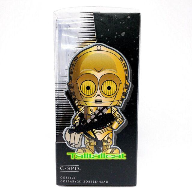 Figure Hot Toys Cosbaby Star Wars Bobble Head C-3PO Santa Merry Christmas Ver