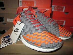 new style 6a849 30215 Image is loading SALE-NIKE-FREE-INNEVA-WOVEN-TOTAL-CRIMSON-GREY-