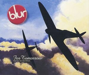 Blur-Maxi-CD-For-Tomorrow-England-M-EX