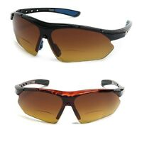 Bifocal Safety Reading Sun Glasses Sunglasses Driving Sport 1.0 1.5 2.0 2.5 3.0