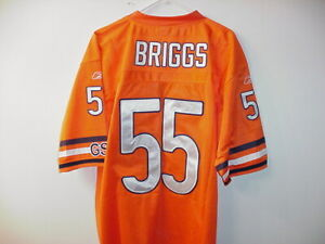 LANCE-BRIGGS-ORANGE-CHICAGO-BEARS-JERSEY-SIZE-52-XLARGE-NEW-WITH-TAGS
