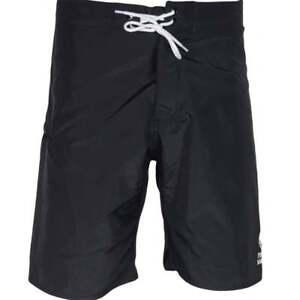 Franklin-amp-Marshall-ua950-Beachwear-Unisexe-Black-Swim-Shorts