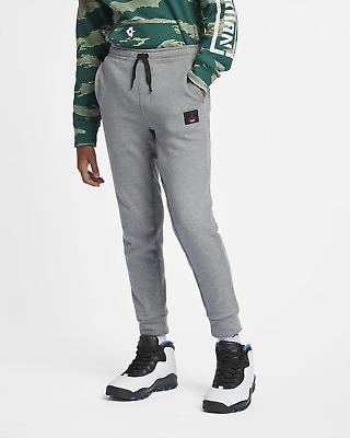 Grey size 12-13 years NIKE JORDAN Boys/' Joggers