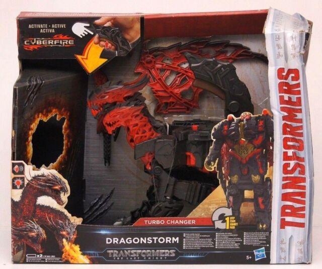 Transformers Turbo Changer Dragonstorm Licht und Sound NEU Verpackungsschäden