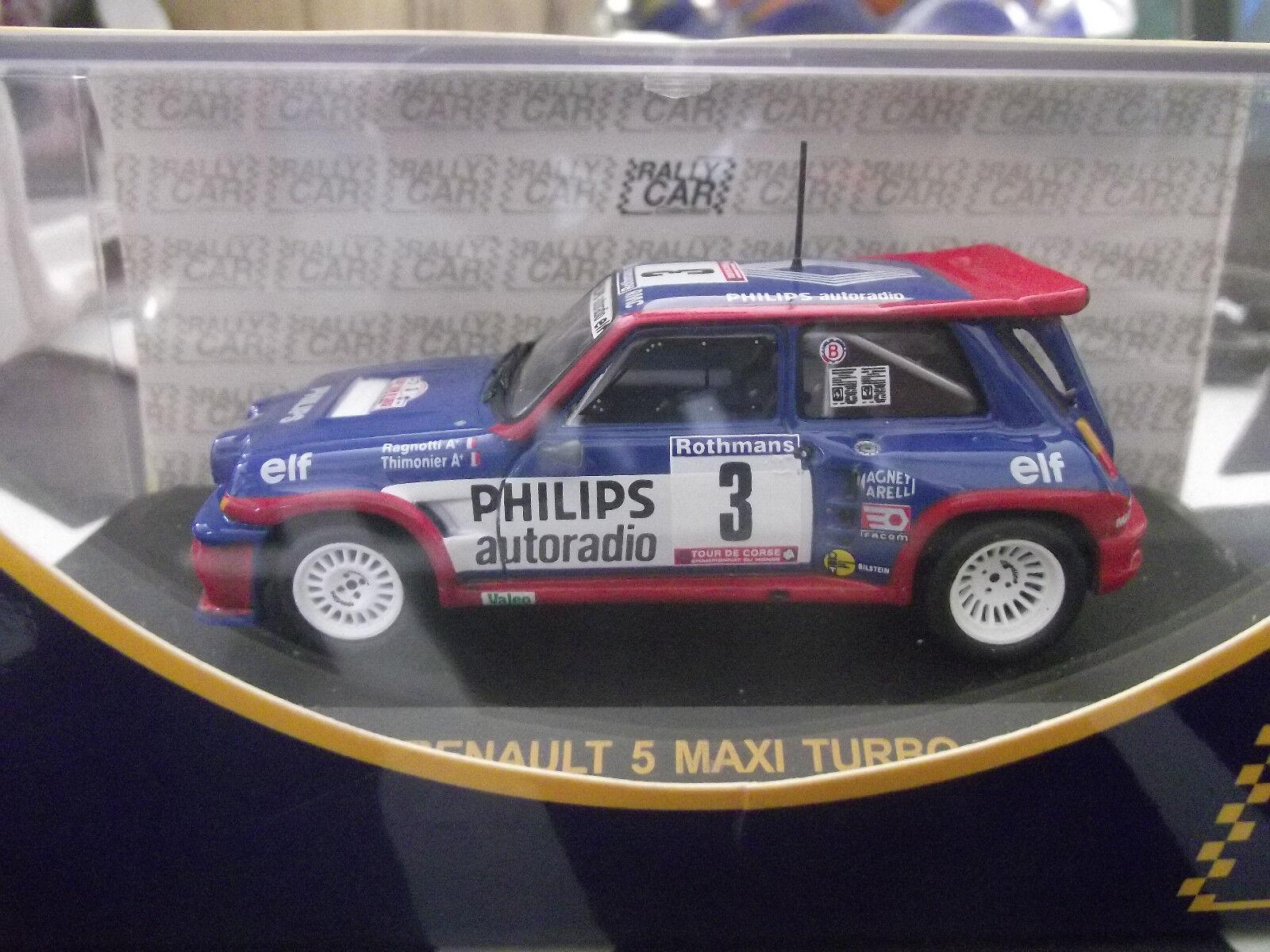 Renault 5 Maxi Turbo Rally di Corse 1985 Ragnotti 1 43
