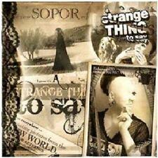 SOPOR AETERNUS - A STRANGE THING TO SAY  CD NEU