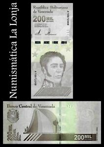 B-D-M Venezuela 200000 Bolívares 2020 (2021) Pick New SC UNC