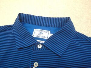 Southern-Tide-Cotton-Blend-Skipjack-Blue-Stripe-Polo-Shirt-NWT-Small-89