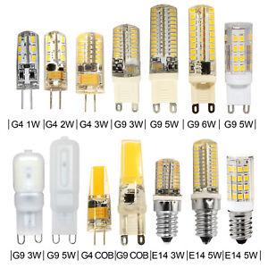 Lot-LED-Ampoules-G4-G9-E14-2W-7W-Mais-Lampe-Capsule-Lumiere-Chaud-Froid-12V-230V