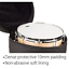 """Heavy Ready 6.5 x 14/"""" Height x Diameter Padded Snare Bag by Protec Model HR6514"""