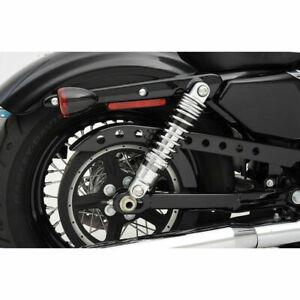 "Drag Specialties Chrome Premium Adjustable 13/"" Shocks 2004-2018 Harley Sportster"