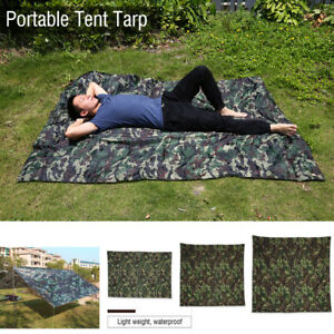 Camo-Outdoor-Portable-Lightweight-Rainproof-Mat-Rain-Tent-Tarp-Sunshade-Shelter