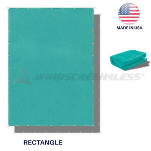 220GSM-Sun-Shade-Sail-Turquoise-Straight-Edge-Canopy-Awning-Patio-6x6-10x40-039-FT