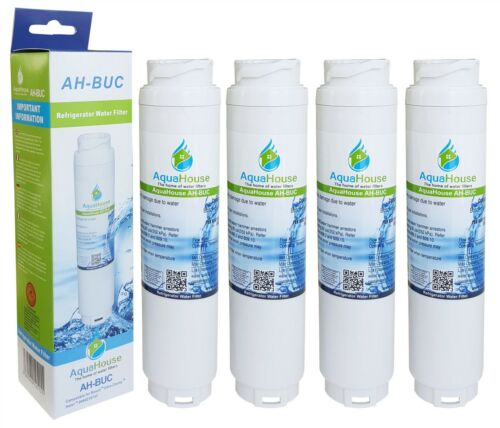 4x AH-BUC Compatible Water Filters For Haier 0060218743 Rangemaster DXD Fridge