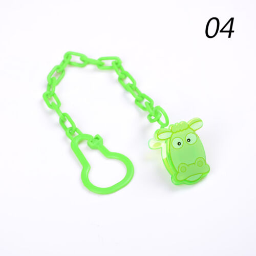 Cartoon Baby Dummy Pacifier Soother Nipple Chain Clip Buckle Holder Holder JC VT