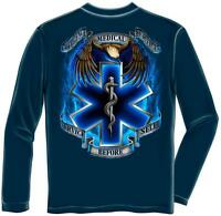 Erazor Bits Long Sleeve T-shirt Emergency Medical Services - Ems Heroes - Servic