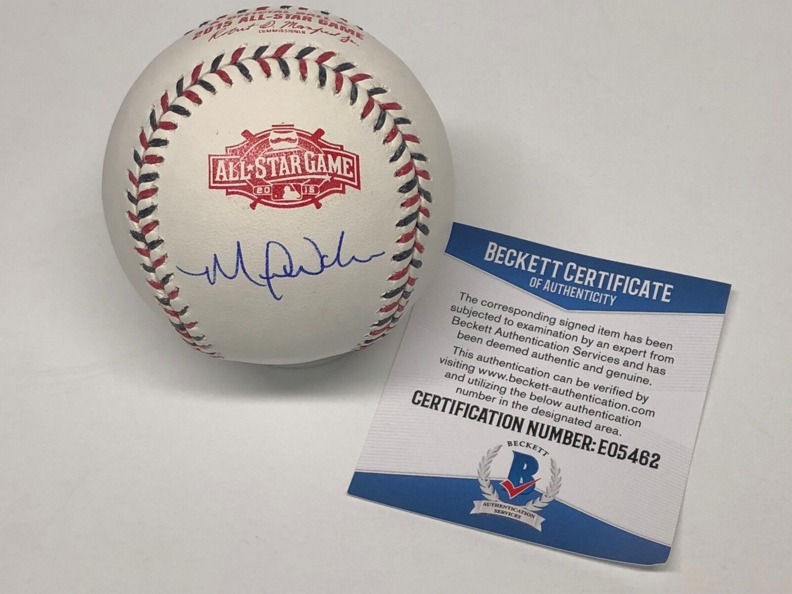 Michael Wacha Signed 2015 All-Star Major League Baseball ASMLB BAS E05462