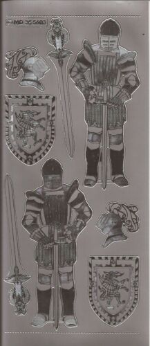 Knights Embossed MD Peel Offs