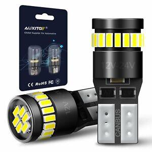 2X-T10-501-194-W5W-12V-24V-LED-Xenon-White-CANBUS-Error-Free-Wedge-Light-Bulb