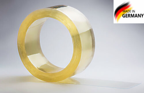 PVC Streifenvorhänge Lamellenvorhang Streifen Vorhang 200x2mm kaufen transparent