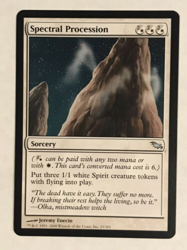 Details about  /Spectral Procession SP Shadowmoor MTG