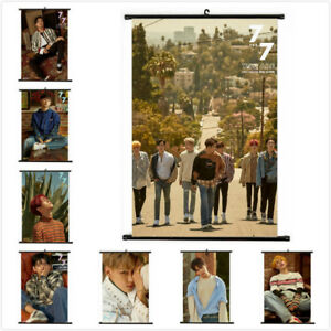 Lot-of-amp-Kpop-GOT7-7-For-7-Hanging-Painting-Art-Painting-Wall-Scroll-Poster