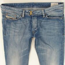 Mens Diesel VIKER-R-BOX 008AT Straight Regular Fit Blue Jeans W36 L32