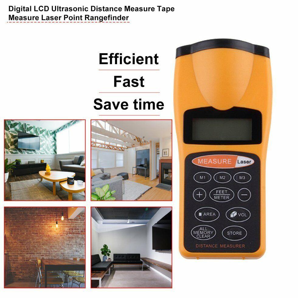 Business & Industrial Ultrasonic Meter/Feet Laser Pointer Distance ...