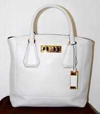 MICHAEL KORS COLLECTION Handtasche 1125€ Neu LG EW Tote optic white Leder Tasche