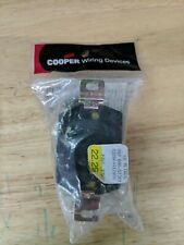 Cooper Twist Turn Locking Flanged Outlet Receptacle L10-30R 30A 125//250V L1030FO