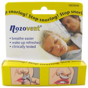 Nozovent Stop Snoring 2 Pack Ebay