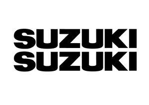 2 Suzuki Decals, Autocollants Pour Moto, Quad, hors-bord. De Nombreuses Tailles, 18 Couleurs.  </span>