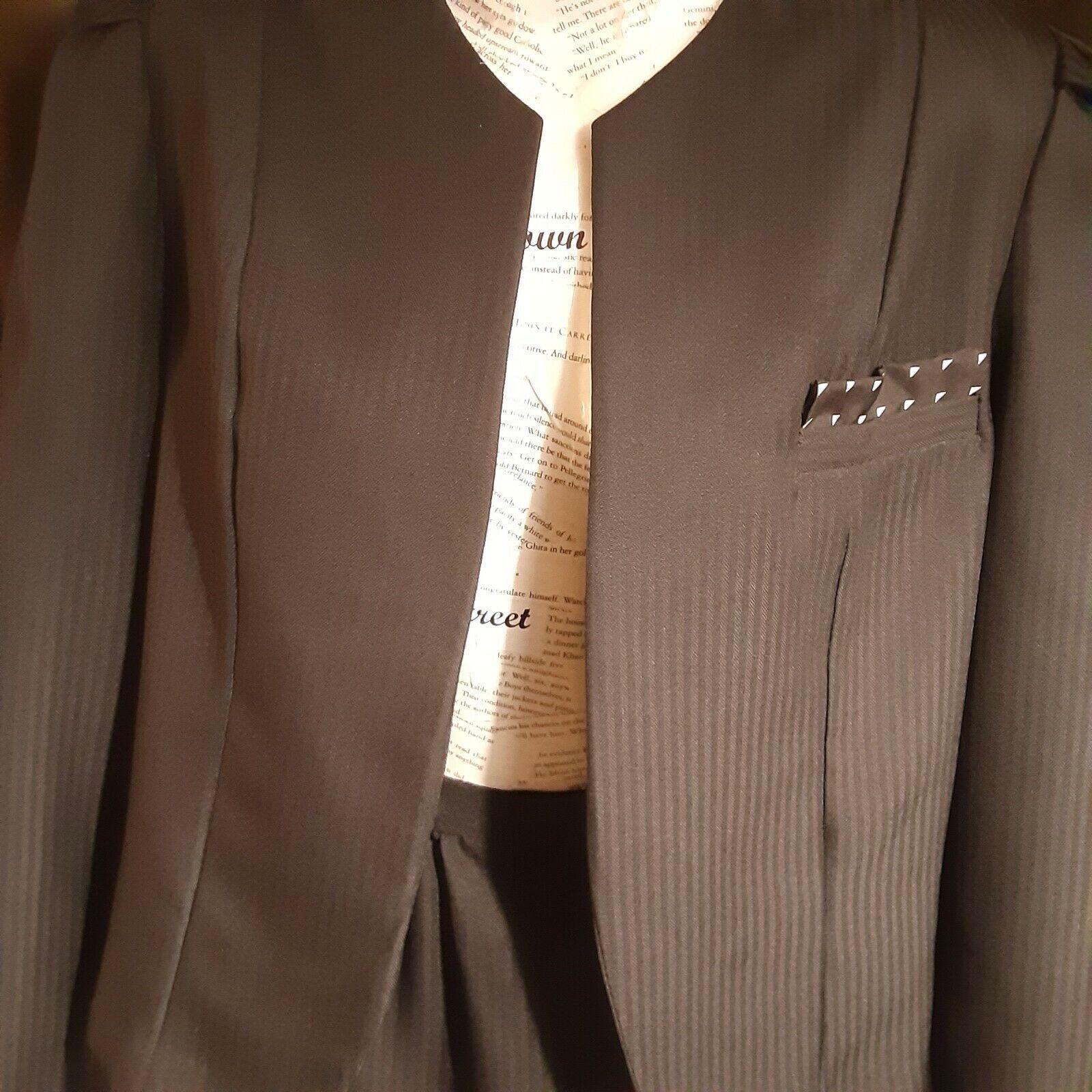VINTAGE Claire Thomson for Kanner Skirt Suit Reg … - image 2