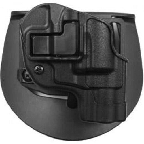 LH Black CQC SERPA Beltloop//Paddle Holster BLACKHAWK S/&W J-Frame Revolver