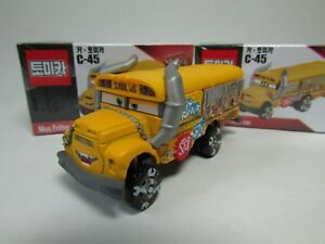 Tomica Disney C-45 CARS 3 Standard Type Miss · Fritter School Bus 2017 NEW TOMY