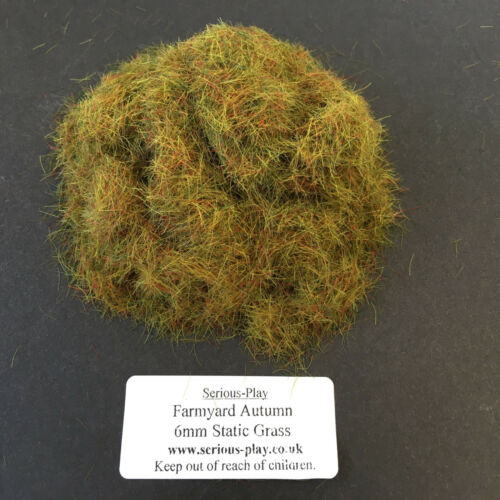 Serious-Play Farmyard Autumn Static Grass 6mm Model Scenery Warhammer Railway