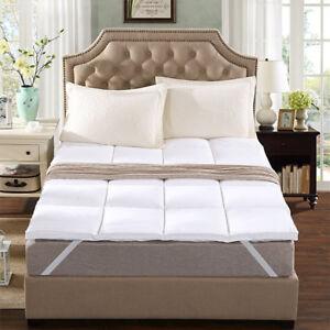 Microfiber Mattress Topper Ultra Soft Top Hotel Quality Air Flow Mattress Luxury