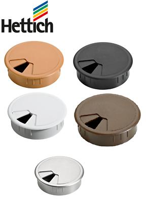 Hettich Kabeldurchlass 80 mm verschiedene Farben Ø 60 mm