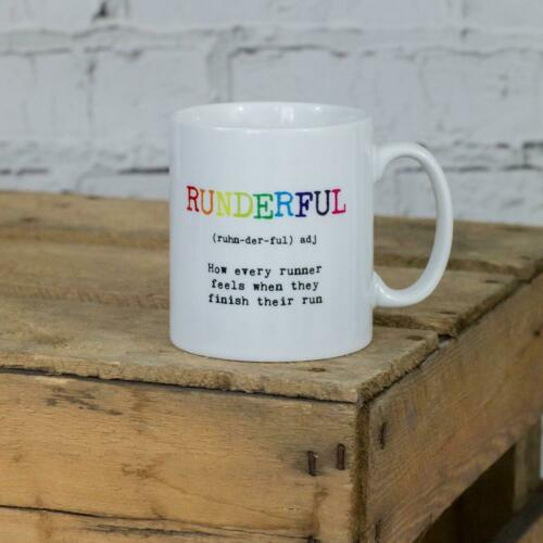 Ideal Gift Runner Triathlete Marathon 5K PERSONALISED Runderful Definition Mug