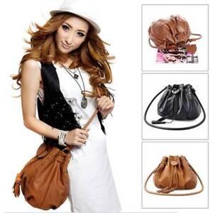 Women-Lady-Leather-Shoulder-Bag-Handbag-Satchel-Clutch-Messenger-Hobo-Tassel-Bag
