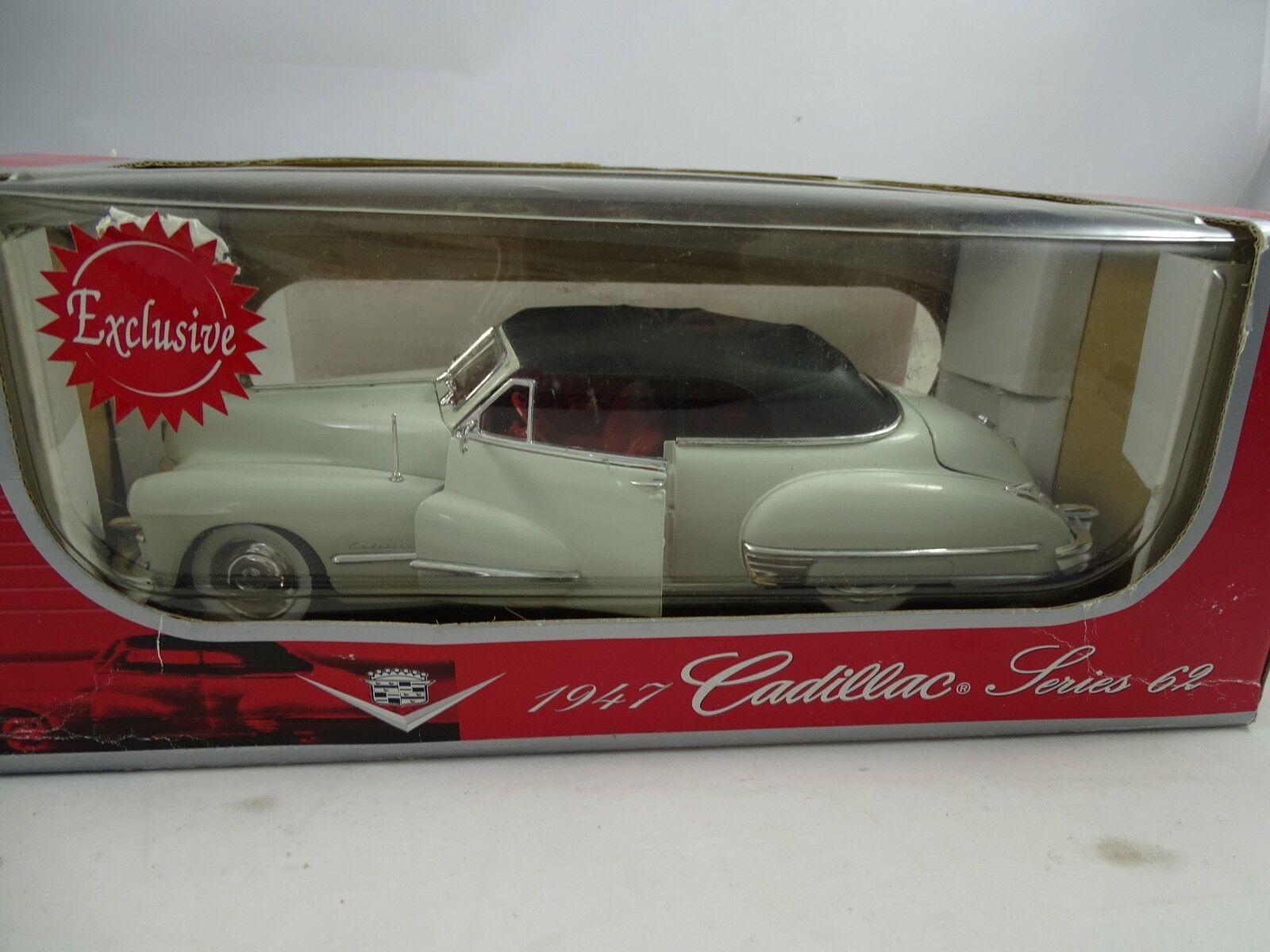 1 18 Anson  30345 - 1947 Cadillac Series 62 cremeWeiß - RARITÄT