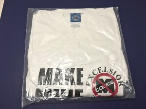 VTG-Make-Mine-ANTI-MARVEL-Comic-Book-T-Shirt-Exclesior-STAN-LEE-NEW-DEADSTOCK