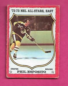 1973-74-OPC-120-BRUINS-PHIL-ESPOSITO-AS-VG-CARD-INV-A9713
