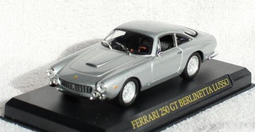 Ferrari 250 GT Berlinetta Lusso silber 1:43 IXO//Altaya Modellauto