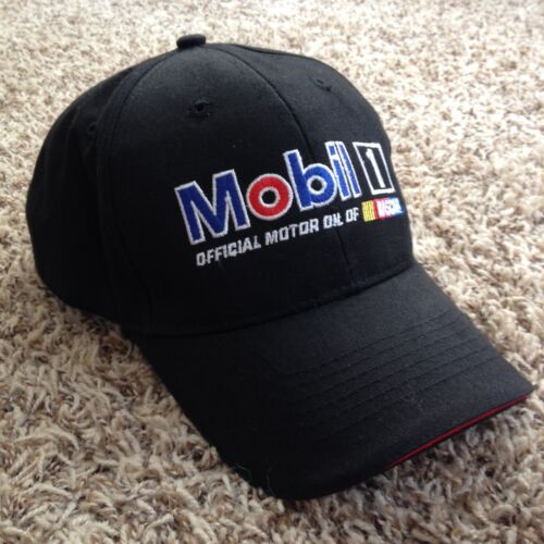 Authentic Pit Crew Mobil 1 Racing Tony Stewart #14 Hats 2013 Dover Victory Lane