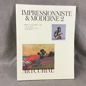 Asta Catalouge Impressionista Art Georges D'Espagnat Contemporary Design Libro