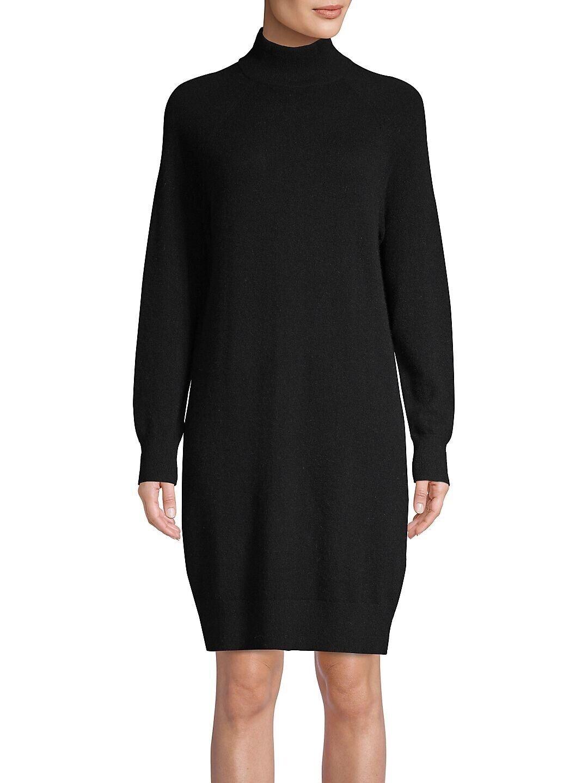 Nuevo Con Etiquetas  298 capas  de lujo 100% Cachemir Negro Vestido Túnica Suéter S-Pequeño  saludable