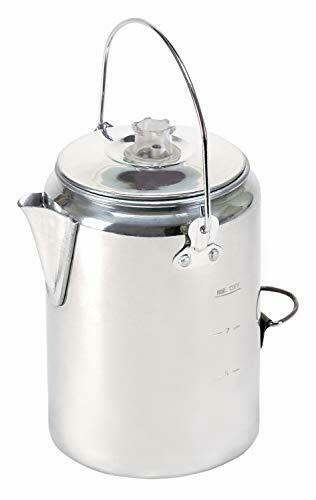 Stansport Campers Coffee Pot Percolating Camping Outdoor Percolator Campfire New