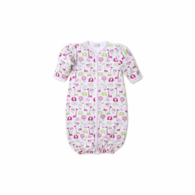 Kissy Kissy Baby-Boys Infant Jazzy Jungle Print Convertible Gown