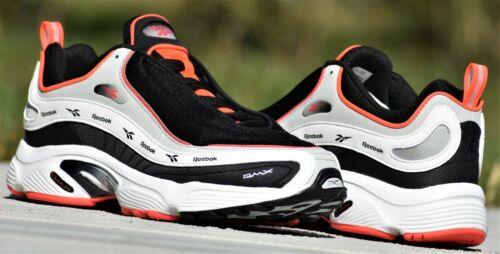 Reebok Daytona DMX Vector New Men/'s Neon Red Black White Shoes DV3891 Running